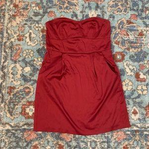 Dresses & Skirts - Strapless mini dress with pockets